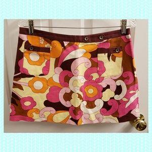 Dolce & Gabbana Mod Print Mini Skirt